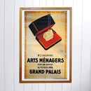 Original Art Menagers Grand Palais 1932 Poster