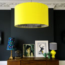 Marimekko Silhouette Lampshade In Sunshine Yellow