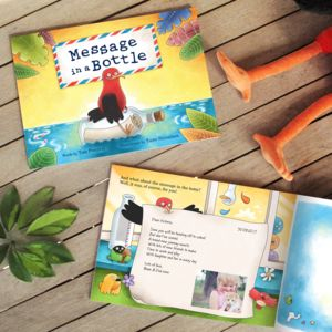Personalised 'Message In A Bottle' Children's Book - gifts for babies