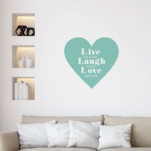 Live Laugh Love Wall Sticker - wall stickers