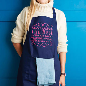 Personalised You're The Best Apron - gifts for friends