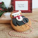 Christmas Penguin Cookie Gram