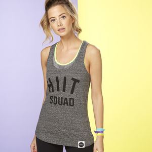 Hiit Squad Racer Back Vest - women's fashion