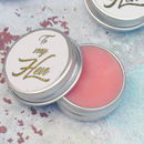 Hen Party Prosecco Lip Balm Favours In White And Gold