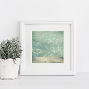Morning Swim Photographic Print