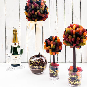 Personalised Wine Gum Sweet Tree - chocolates & confectionery