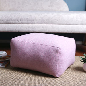 Made To Order, Plain Foot Stool - footstools & pouffes