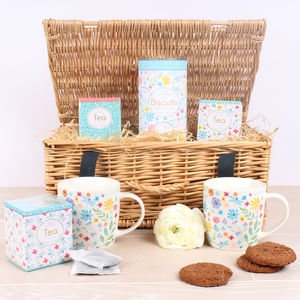 Alcohol free hampers notonthehighstreet summer meadow tea for two hamper negle Image collections