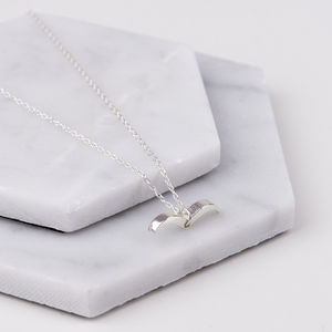 Sterling Silver Bird Necklace - jewellery
