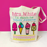 Personalised Teaching Assistant Bag - accessories