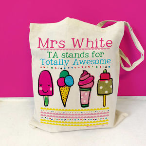 Personalised Teaching Assistant Bag