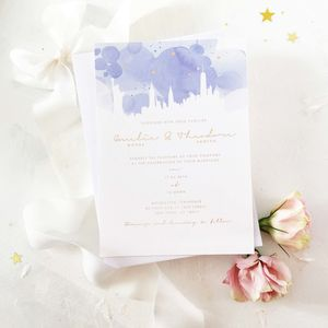 Skyline Invitation Suite - invitations