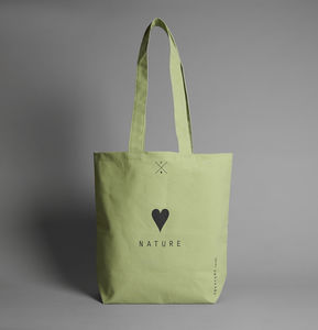 Love Nature Green Tote Bag