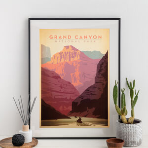 Grand Canyon National Park Travel Print