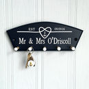 Personalised Nautical Love Knot Key Hook