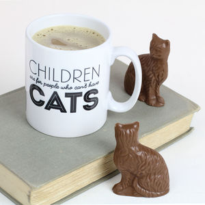 'Children Are For People Who Can't Have Cats' Mug