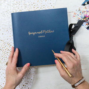 Personalised Photo Guest Book - occasion