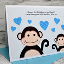 Personalised 1st Fathers Day Card