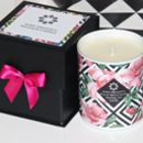 Rose And Spiced Vanilla Massage Oil Candle