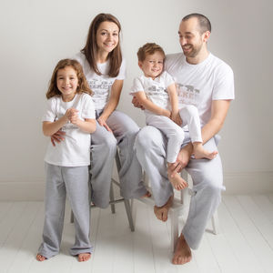 Personalised Family Christmas Pyjama Set