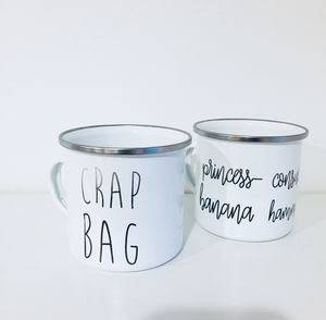 Crap Bag And Princess Consuela Couples Mug Set