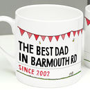 Father's Day Personalised Street Sign Mug