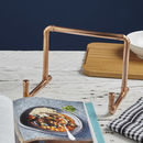 Industrial Copper Piping iPad /Book Stand