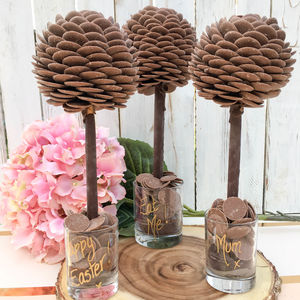 Personalised Cadbury's Chocolate Button Tree - summer sale