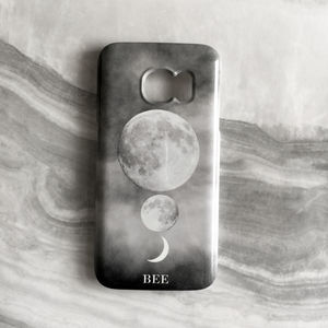 Constellation Cosmic Luna Print Monogram Phone Case