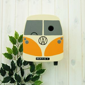 Personalised Campervan Bird Box