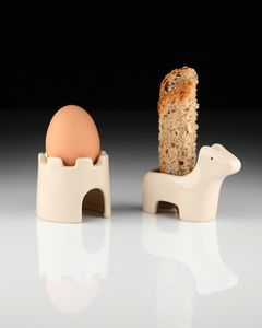 Egg And Soldiers Breakfast Set - egg cups & cosies