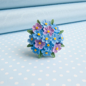 Forget Me Not Brooch - pins & brooches