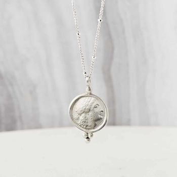 Sterling Silver Goddess Amulet Necklace