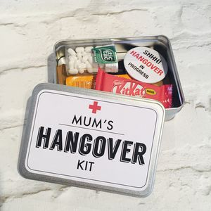 Hangover Kit Flat Tin - chocolates & confectionery