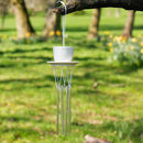 White Tea Cup Wind Chime