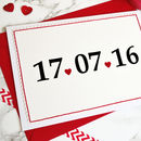Special Date Handmade Card