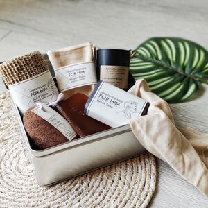 'For Him' Men's Grooming Vegan Ecofriendly Gift Set