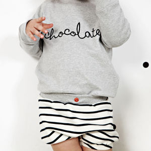 'Chocolate' Sweatshirt - clothing