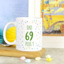 Personalised 70th Birthday Mug