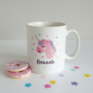 Unicorn Personalised Mug - mugs