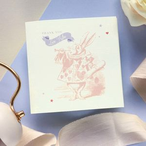 Adorable Alice Thank You Card