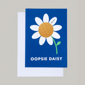 Scratch And Smile Oopsie Daisy Sorry Card