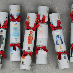 Six Luxury Nutcracker Story Christmas Crackers