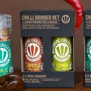 Chilli Grinder Gift Set - spice-lover gifts
