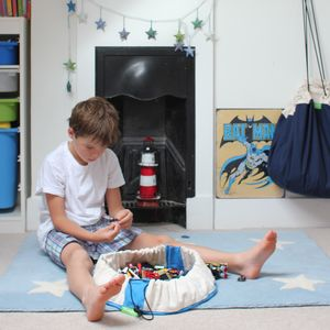 Mini Play Mat And Storage Bag