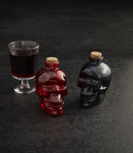 Halloween Skull Potion Bottles - party decorations