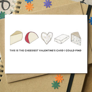 Cheesiest Valentine's Day Funny Card - cards & wrap