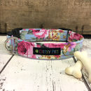 Rose Floral Dog Collar