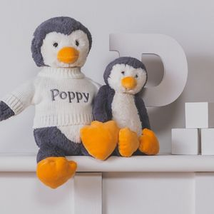 Personalised Bashful Penguin Soft Toy