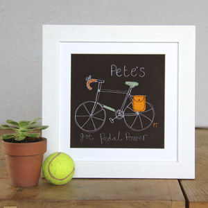 Bicycle Vintage Racer Personalised Picture